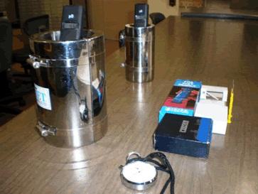 図4 ハイエット処理水の電気導電率測定装置