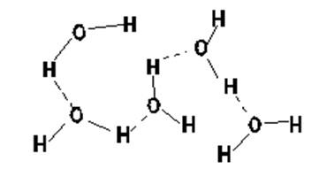 図3 水集合分子モデルの概要